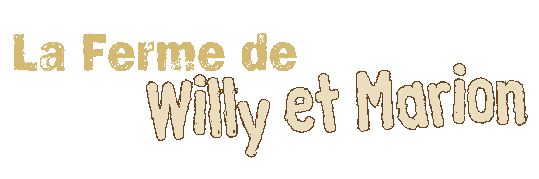 La ferme de Willy et Marion